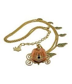 Disney Couture Pumpkin Necklace