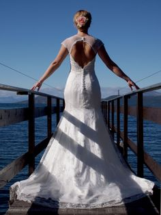 Photograph from my wedding in the north of Norway in August Photograph by me/assistant. August 2013, Mermaid Wedding, Norway, Photographs, Wedding Dresses, Fashion, Bride Dresses, Moda, Bridal Gowns
