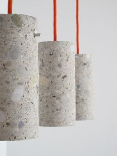 Concrete Lamp; Concrete Pendant Light; Concrete Lamp Shade