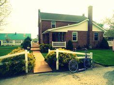 Amish's house.