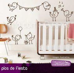 Vinilos Decorativos. Diseños Infantiles Con Animales. Nuevos