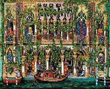 Elio Nava, Venezia, festa a palazzo