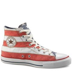 All Star Premium Flag Converse All Star Hi-Top Flag Stripe Trainers [122182] - $39.99 : Converse Outlet, -big discount from offical converse