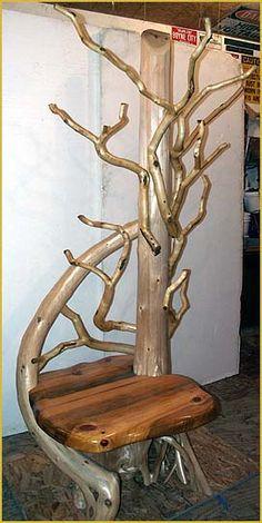 1000 Images About Log Funiture On Pinterest Log