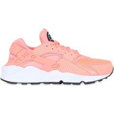 wholesale dealer 159b5 39ae0 Nike Women Air Huarache Run Mesh Sneakers ( 115) ❤ liked on Polyvore  featuring shoes, sneakers, pink, pink shoes, perforated sneakers, nike, nike  footwear ...