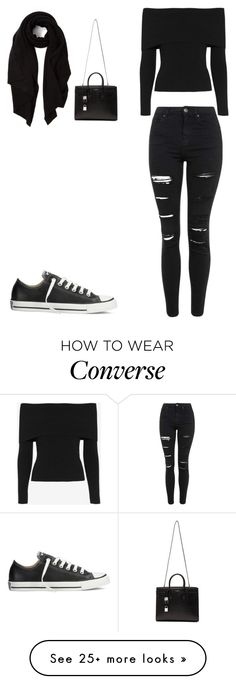 """""""It's cold but I want to look pretty"""" by serli2000 on Polyvore featuring A.L.C., Topshop, Converse, Yves Saint Laurent, Cash Ca, women's clothing, women's fashion, women, female and woman"""