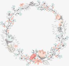 Art Floral, Logo Floral, Frame Floral, Flower Logo, Flower Frame, Flower Art, Floral Prints, Flower Circle, Flower Background Wallpaper