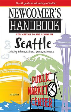 Newcomer's Handbook for Moving to and Living in Seattle: Including Bellevue . Hopefully I'll be referencing this next year! Things To Do Seattle, Moving To Seattle, Seattle Travel, Seattle Washington, Washington State, Bellevue Washington, Sleepless In Seattle, Wa State, Seattle Area