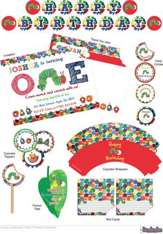 Hey, I found this really awesome Etsy listing at http://www.etsy.com/listing/152038883/the-very-hungry-caterpillar-printable
