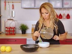Recette Weight Watchers : la mousse au citron d'Hélène Ségara