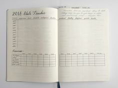 Stats Tracker - Blog & Business Bullet Journal