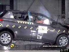 2011 Toyota Yaris çarpışma testi | Araba Teknik Bilgi