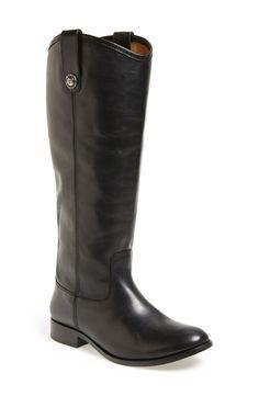 $300 Frye 'Melissa Button' Boot (Extended Calf)
