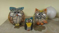 The world's catalog of creative ideas Beginner Pottery, Clay Animals, Cat Crafts, Bird Drawings, Ceramic Art, Christmas Ornaments, Creative, Pottery Ideas, Owls