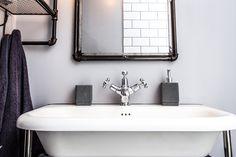 Victorian roll top basin Basin, Bathtub, Vanity, Victorian, Spaces, Bathroom, Top, Home Decor, Standing Bath