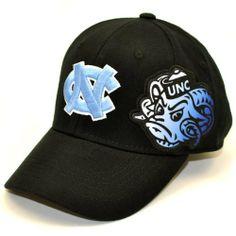80d8912056f NCAA North Carolina Tar Heels Men s Free Agent 1 Fit Cap (Black