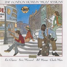 USED COMPACT DISC Released in 1989, MCA/Chess Records - Recorded in May 1970, Engineer Glyn Johns and Olympic Sound in London England Howlin' Wolf featuring Eric Clapton, Steve Winwood, Bill Wyman, an