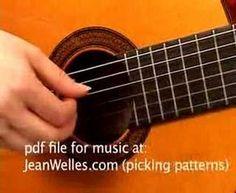 How To Start Finger Picking On Guitar - Easy Method For Transition From Using Pick - Technique ... - YouTube
