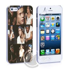 Harry Styles Collage in One Picture iPhone 4, 4S, 5, 5C, 5S Samsung Ga – iCasesStore