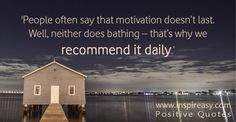 Each morning start the day by giving some #positivethoughts to your goals! #QuoteOfTheDay