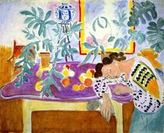 Still LIfe with a Sleeping Woman - Henri Matisse - The Athenaeum