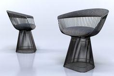 Бесплатные 3d модели - Кресла v1   ВИЗ-Люди