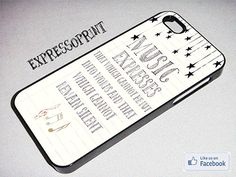 "Quote iPhone 5 Case ""Music Expresses..."""