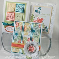 Mixed Bunches Inspired Cards