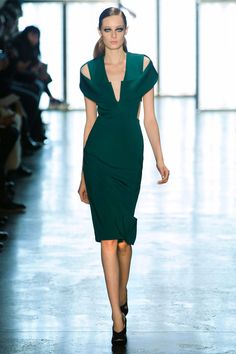 Cushnie et Ochs Fall '15 Collection at New York Fashion Week