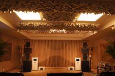 Vicoustic treated Hi-Fi Listening Room