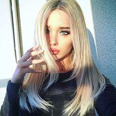 grafika blonde, beauty, and eyes