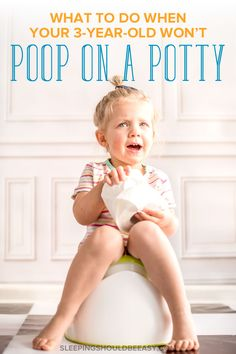 Wondering how to get your toddler to poop in the potty? Learn how to handle your child's anxiety and defiance when your 3 year old won't poop on potty. Kids Sleep, Child Sleep, Baby Sleep, Baby Sign Language, Potty Training Tips, Toddler Schedule, Two Year Olds, My Children
