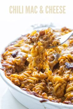Chili Mac and Cheese   Real Food by Dad