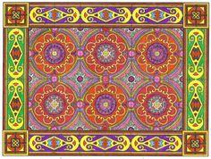 Ellen Trabilcy (18+ division) from Decorative Tile Designs Coloring Book: http://store.doverpublications.com/048645195x.html