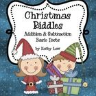In this set of 10 activities, students will enjoy completing basic addition and subtraction facts in order to solve the Christmas Riddles.Answer ...