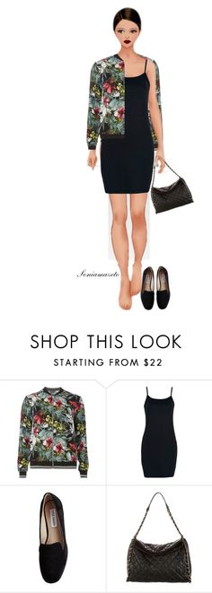 """""""Sem título #771"""" by soniamazeto ❤ liked on Polyvore featuring Dorothy Perkins, WithChic, Steve Madden and Chanel"""