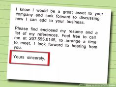 Images Of Cover Letters How To Write A Cover Letter & 40 Free Templatesmark Slack .