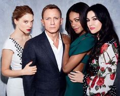 Daniel Craig and His Bond Girls) Want premium accessories at affordable prices? Looking for a shop where you get more for your money? Our mission at The Gentleman Shop is to give you quality, and along with it affordability. For the Modern Day Gentleman. James Bond 007 Spectre, James Bond Actors, Rachel Weisz, Best Bond Girls, Daniel Graig, Sean Young, Daniel Craig James Bond, Beautiful Young Lady, Young Actors