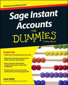 """Read """"Sage Instant Accounts For Dummies"""" by Jane E. Kelly available from Rakuten Kobo. Get to grips with Sage Instant Accounts in simple steps. This comprehensive guide walks you through every aspect of sett. Sage Accounting, Business Performance, Step By Step Instructions, This Book, Learning, Walks, Free Apps, Audiobooks"""