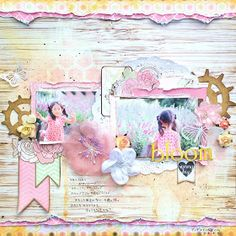Peek a ぶぅ Scrap!!: Scrap Around The World & Once Upon A ...Sketch September challenges!!
