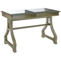 Marchella Desk - Sage Love it! would look great besides my bed with a nice lamp, and my laptop- Home office corner!