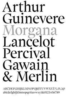 Morgana, 2011 by Samo Ačko Hand Lettering Fonts, Types Of Lettering, Typography Letters, Typography Logo, Typographic Design, Graphic Design Typography, Sans Serif, Type Design, Logo Design