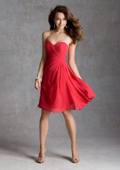 20 Most Popular Red Bridesmaid Dresses for Different Shapes - EverAfterGuide