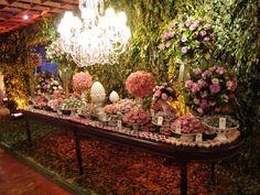 mesa de doces: MORRI