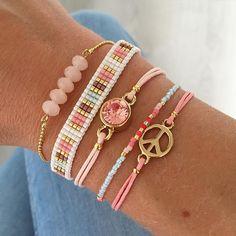 Counting down for spring..  www.mint15.nl  #spring #summer #springsummer #ss16 #jewelry #sieraden #armcandy #armbanden #bracelets #pastel #gold #peace #swarovski