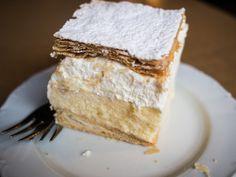Kremna Rezina (Bled Cream Cake)