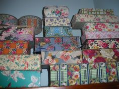 fabric covered jewelry box   fabric covered boxes