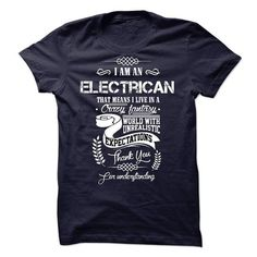 Electrician - #funny shirt #hoodie ideas. THE BEST => https://www.sunfrog.com/States/Electrician-18718935-Guys.html?68278