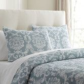 Alice Blue Quilted Bedding Collection #birchlane