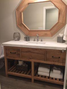Bathroom Vanities Etsy infurniture rustic style 60-inch double sink bathroom vanity and